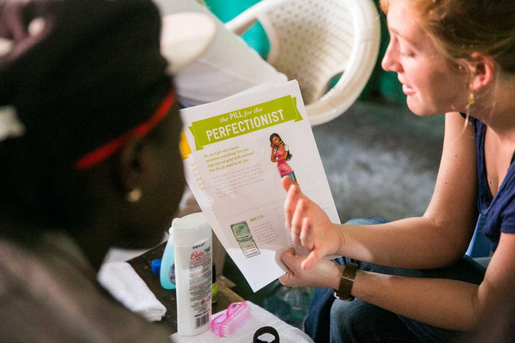 The Hewlett Foundation recently made project-based grants to Marie Stopes International- US and IDEO.org, a pioneer in human-centered design, to explore new ways of connecting teenagers to reproductive health services in Zambia.