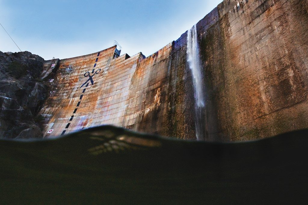 The aged and defunct Matilija Dam's days are numbered. (Credit: DamNationCollection)