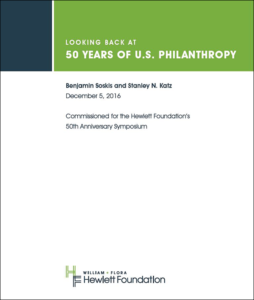 50 Years of US Philanthropy PDF cover image