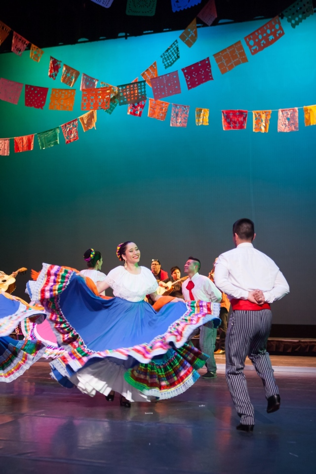 Baile Folklorico at the School of Arts and Culture.